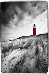 Texel Lighthouse (shoot it!) Tags: blue sky panorama cloud lighthouse seascape beach nature water clouds strand photoshop canon landscape waddeneiland blauw wandelen dune wolken zee panoramic april marco duinen vuurtoren texel landschap noordholland zand eiland wolk duin 2015 cocksdorp helmgras noordhollands alienskinexposure cs5 eierland shootit alienskinsoftware canon5dmarkii struijlaart april2015