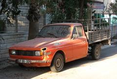 Anadol 600D (Abandoned) (Saygn Sancar) Tags: abandoned turkey trkiye pickup antalya turkish fibreglass glassfibre otosan anadol kamyonet