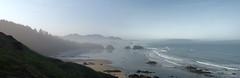 Ecola Point Viewpoint - Pano2 (JamesInDigital) Tags: ocean nature oregon landscape nikon surf waves tide oregoncoast nikonphotography nikonp900