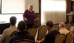 Sherry Watts leads her workshop
