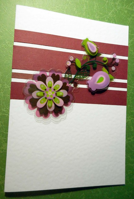 All-purpose handmade card 80