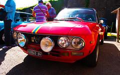 Lancia Fulvia 1600 HF (maximilian91) Tags: italy italia liguria oldcars fulvia vintagecars lancia italiancars montoggio lanciafulvia lanciafulvia1600 lanciafulvia1600hf