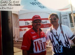 #48B-9, NHRA, Top Fuel, GARY SCELZI, Winston, Pictures with Drivers (Picture Proof Autographs) Tags: photograph photographs inperson pictureproof photoproof picture photo proof image images collector collectors collection collections collectible collectibles classic session sessions authentic authenticated real genuine sign signed signing sigature sigatures auto autos vehicles vehicle model automobile automobiles driver drivers autoracing sport sports nhra topfuel funnycar prostock dragsters dragster racing series dodge charger intrepid ford thunderbird chevy lumina montecarlo pontiac grandprix taurus indy irl cart fredweichmann frederickweichmann fred frederick weichmann