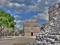 Chichen Itza - Mexico (PLADIR) Tags: sky clouds mexico maya outdoor yucatan himmel wolken unesco chichenitza hdr chichénitzá mexiko tempel ruinen weltkulturerbe ruinenstadt