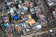 Sindhuli District destruction (U.S. Embassy Kathmandu) Tags: nepal earthquake kathmandu np vengeance multinational jointoperations hadr uh1yvenom hmla469 humanitarianaidanddisasterrelief april252015 nepalearthquake may122015