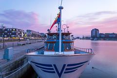 Early Morning in Kiel (Germany) (achilles.l) Tags: morning sea digital germany boats photography early sailing harbour baltic winner ostsee challenge kiel beginner blaue frde segelboote kieler stunde