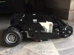 Tumbl3r (Reventist) Tags: dark lego technic knight batmobile mindstorms tumbler ev3