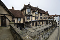 Lord Leycester Hospital, Warwick 01/04/2016 (Gary S. Crutchley) Tags: uk travel england heritage history st architecture buildings hospital ed george nikon raw britain leicester united great kingdom s lord medieval half af nikkor warwick guild warwickshire d800 timbered servicemen 1635mm leycester f40g of