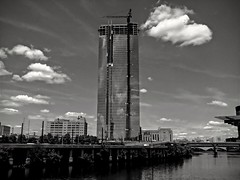 A city of glass (nathyncasillas1) Tags: urban blackandwhite glass architecture skyscraper landscape industrial cityscape photagraphy