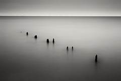 3928 Groynes At Sheerness (andy linden) Tags: monochrome long exposure groynes sheerness 3928 at
