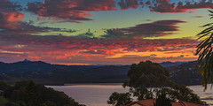 Tweed broadwater pink sunset (rod marshall) Tags: sunrise snapperrocks bestsunrise sunrisesnapperrocksbestsunrise sunsettweedbroadwater