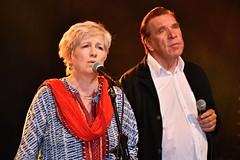 Eija Ahvo ja Harri Saksala