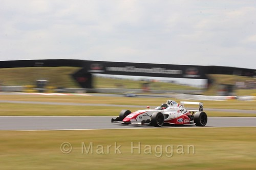 Jack Butel in British Formula 4 during the BTCC 2016 Weekend at Snetterton