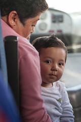 kid on bus (Matthew Almon Roth) Tags: chile patagonia bus child torresdelpaine