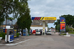 Gleaner, Kinloss Moray. (EYBusman) Tags: gleaner petrol gas gasoline filling service station garage moray scotland kinloss