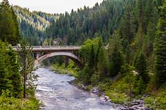 Summer on Rainbow (JuneBugGemplr) Tags: hwy55 idaho rainbowbridge bridges payetteriver rivers
