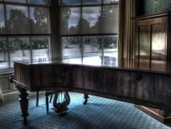 piano in auckton castle (thesettlementgroup) Tags: auckon castle bishop auckland