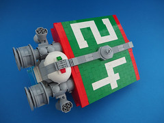 Octan 24 (David Roberts 01341) Tags: lego spaceship spacecraft space scifi minifigure octan tanker sheepfarts brickbending