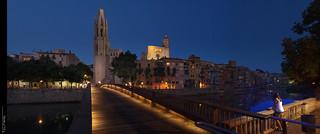Postals de Girona en hora blava...