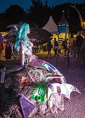 garbage Sea Virgin (werner boehm *) Tags: wernerboehm tollwood munich sculpture mll kunst gabage recycling