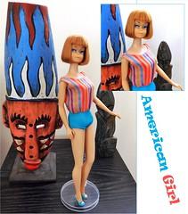 AMERICAN GIRL (ModBarbieLover) Tags: 1965 barbie doll american girl mattel bendable leg