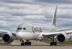 Qatar A7-BCW 30-7-2016 (Enda Burke) Tags: avgeek aviation a7bcw airplane dreamliner boeingdreamliner canon canon7dmk2 cockpit boeing b787 qatar qatarairways omaa doha egcc runway ringway travel takeoff manchesterairport manchester man manc manairport manchestercity 787 7878 b7878 boeing787