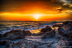 Florida Gold (DonMiller_ToGo) Tags: seascapes hdr clouds outdoors caspersenbeach 3xp hdrphotography nature sunsets sunsetsniper sky d5500 sunsetmadness goldenhour beachphotography florida