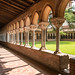 Cloister at St Peter's Abbey, Moissac, France