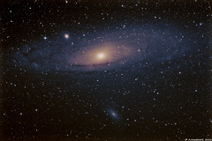 M31 - Andromeda Galaxy (alastair.woodward) Tags: m31 messier andromeda galaxy stars sky night astronomy astrophotography skywatcher 130pds heq5 pro goto canon 1000d qhy5lii derby derbyshire astrometrydotnet:id=nova1669939 astrometrydotnet:status=solved