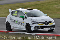 Clio Cup - Q (2) David Dickenson (Collierhousehold_Motorsport) Tags: cliocup renault clio renaultclio toca snetterton wdemotorsport pyro cooksport teambmr