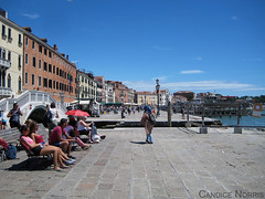 Riva Degli Schiavoni - Venice (stu norris) Tags: rivadeglischiavoni venice italy travel water waterfront historic blue sky cloud outdoor nature city