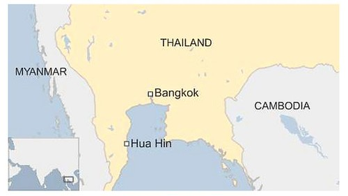 Two bombs explode in Thai resort of Hua Hin, injuring 11, including foreign tourists