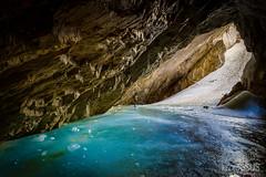 Ice Cave - Picos de Europa National Park - Asturias - Spain (PhotoGSuS) Tags: picosdeeuropa asturias asturies cueva hielo espaa parquenacional montaas spain cave ice nationalpark amazing summer blueice paisaje landscape increible