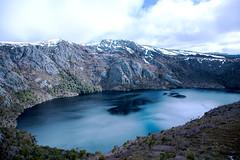 First Climb (FrederickMcdonald) Tags: tasmania mountains canon5d canon walk hiking climbing adventure lake winter snow