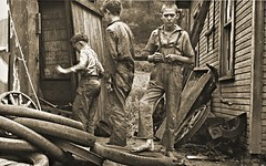Miner's sons, Scott's Run, WVa - 1935