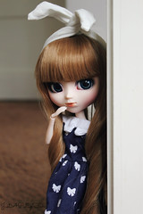 Hi there bunny! (JustAPullipFan) Tags: bunny easter pullip merl