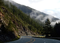 Leaving the Redwoods (LarrynJill) Tags: california ca trip travel nature forest spring highway roadtrip april redwoods recreation 2015