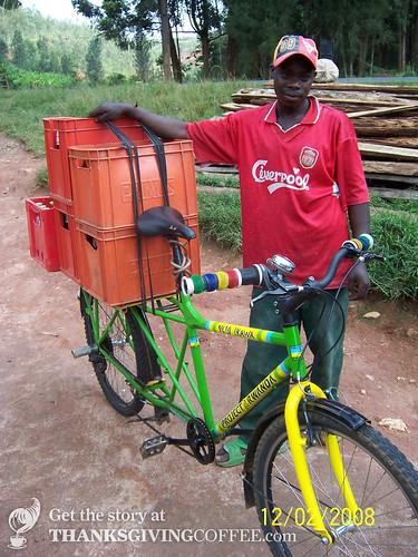 A Coffee Bike in Rwanda