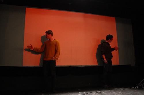 "WORKSHOP: Percepce lidského oka / Video jako zdroj světla na divadle • <a style=""font-size:0.8em;"" href=""http://www.flickr.com/photos/83986917@N04/16898938178/"" target=""_blank"">View on Flickr</a>"