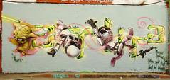 Parlee ERZ (cocabeenslinky) Tags: street city uk england urban streetart london art lumix graffiti star artist yoda photos south united capital kingdom tunnel east panasonic waterloo april wars graff leake se1 artiste 2015 erz parlee atura dmcg6 cocabeenslinky