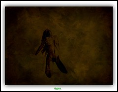 L'EXTASE / ECSTASY (rgisa) Tags: woman texture naked nude drawing femme dessin ecstasy nue texturing extase