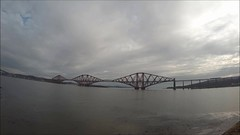 Firth Of Forth Time Lapse (Yorkshire Pics) Tags: bridge river scotland timelapse video construction bridges underconstruction 0404 rivercrossing firthofforth roadconstruction bridgeconstruction timelapsevideo queensferrycrossing 04042015