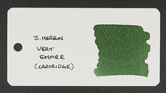 J. Herbin Vert Empire - Word Card