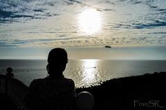 Sunset in Gran Canaria - Puesta de sol en Gran Canaria (FranSR_) Tags: sunset sun bird sol grancanaria relax holidays ship weekend south canarias sur puestadesol puesta canaryislands islascanarias