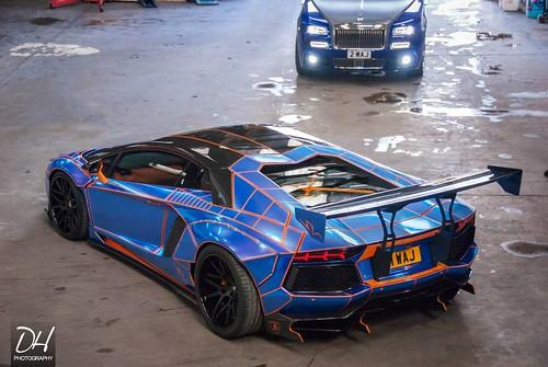Lamborghini Aventador в тюнинге от SB Racing Engineering