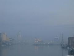 Dans La Brume (yann_cornec) Tags: port brume saintnazaire canonpowershots45