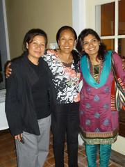 Anu, Phurba and Salina - 2010
