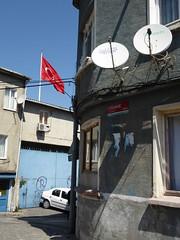 Street In Istanbul (ashabot) Tags: turkey cities istanbul streetscenes