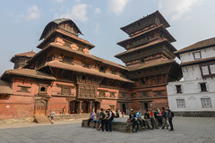 Basantapur Durbar and the Nasal Chok courtyard