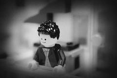 Home. (canu1832) Tags: black home photoshop miniature lego f56 dslr gx10 minifigure legohome legography